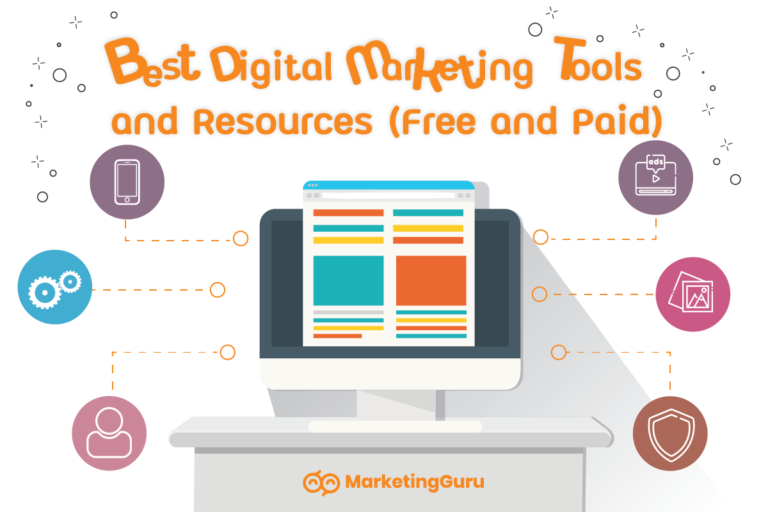 Best Digital Marketing Tools and Resources List (Both Free and Paid)
